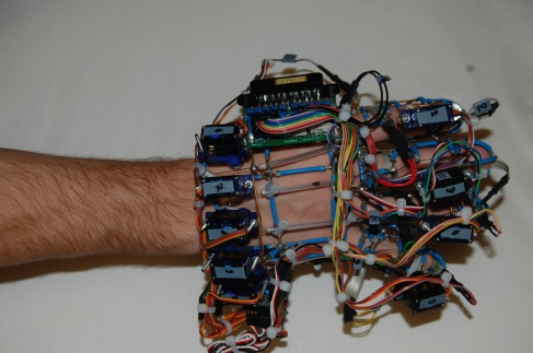 An image dispaying the Exoskeleton gloves